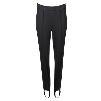 HEIDI DAUS® Town and Country Black High Waisted Ponte-Jersey Stirrup Pant - Heidi Daus®