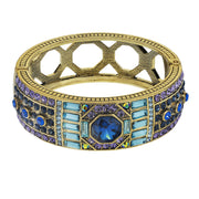 """Lavish Layers"" Crystal Art Deco Bracelet - Heidi Daus®"