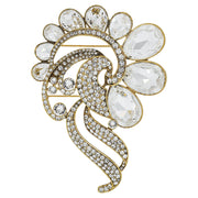 """Big Deco"" Limited Edition Swarovski Crystal Deco Pin - Heidi Daus®"