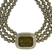 """Tailored to Please"" Crystal Multi-Strand Necklace - Heidi Daus®"