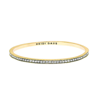 "HEIDI DAUS® ""Infinite Elegance"" Crystal Stackable Slim Bangle Bracelet - Heidi Daus®"