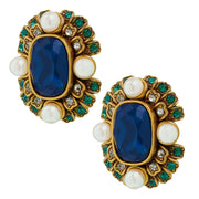 """Contemporary Collectable"" Beaded Crystal Deco Earring - Heidi Daus®"