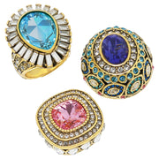 "HEIDI DAUS® ""Enchante"" Magnetic Pendant Ring Set - Heidi Daus®"