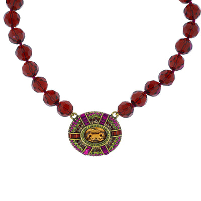 Suit Your Taste Beaded Crystal Necklace - Heidi Daus®