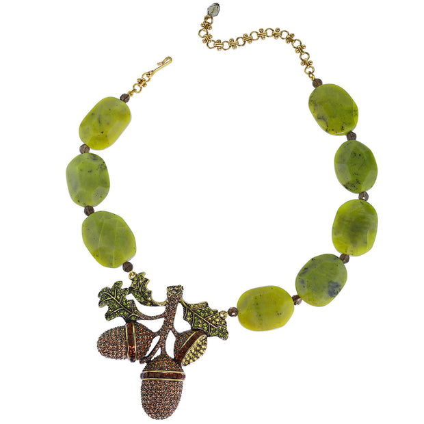 "Heidi Daus ""Autumn Artistry"" Crystal Beaded Necklace - Heidi Daus®"