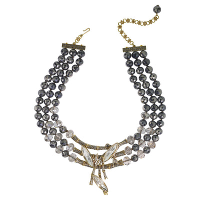 "HEIDI DAUS®""Fabulous Feng Shui"" Beaded Crystal Statement Necklace - Heidi Daus®"