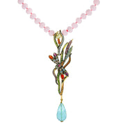 """Dancing Dragonfly"" Crystal Drop Necklace - Heidi Daus®"