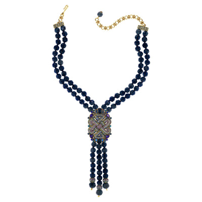 "HEIDI DAUS® ""Deco Tassel"" Crystal Beaded Necklace - Heidi Daus®"