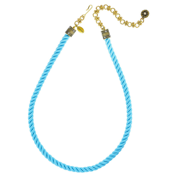 """Elegant Essentials"" Cord Crystal Necklace - Heidi Daus®"