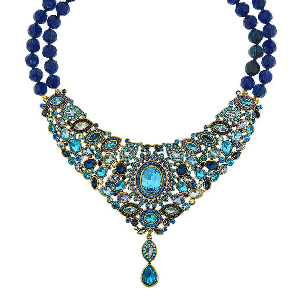 """Worth Waiting For"" Crystal Deco Drop Necklace - Heidi Daus®"