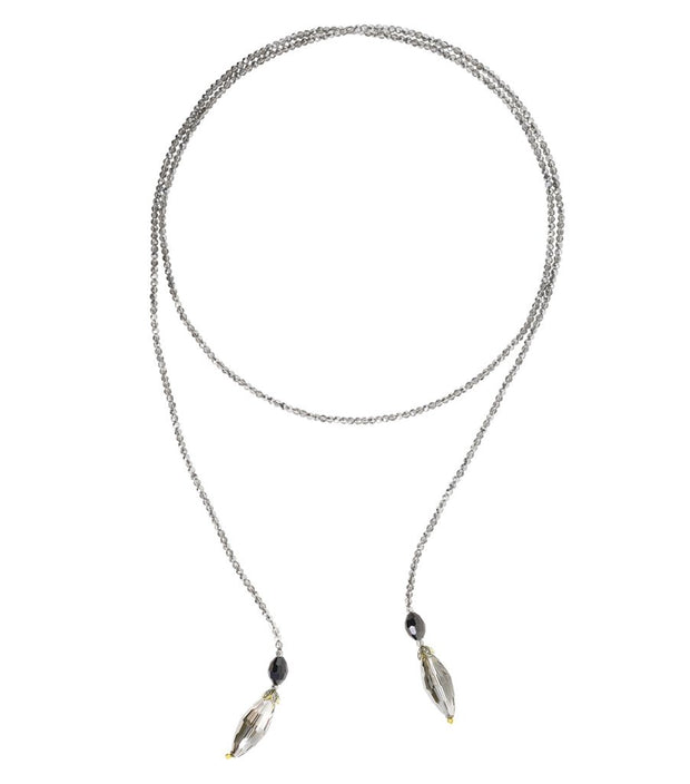 "Heidi Daus®""Live Stream"" Beaded Crystal Lariat Necklace - Heidi Daus®"