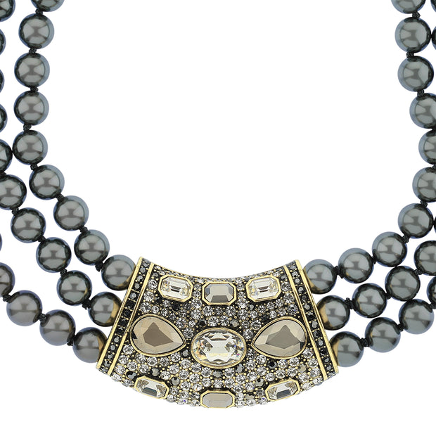 "HEIDI DAUS®""Say It With Style"" Beaded Crystal Statement Necklace - Heidi Daus®"