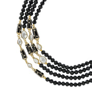"HEIDI DAUS®""It's Raining Gems II"" EnamelCrystal Beaded Necklace - Heidi Daus®"
