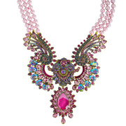 "HEIDI DAUS®""Shangri La"" Beaded Crystal Statement Necklace - Heidi Daus®"