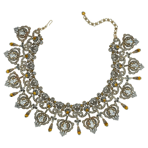 "HEIDI DAUS®""Regal Rapture"" Crystal Necklace - Heidi Daus®"