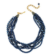 """Braided Beauty"" Beaded Necklace - Heidi Daus®"