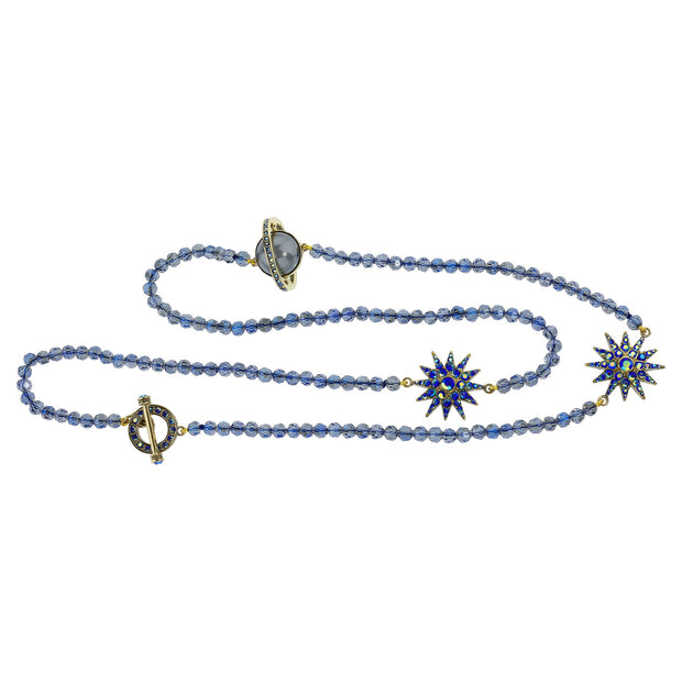 "HEIDI DAUS®""Out of This World"" Crystal Beaded Toggle Necklace - Heidi Daus®"