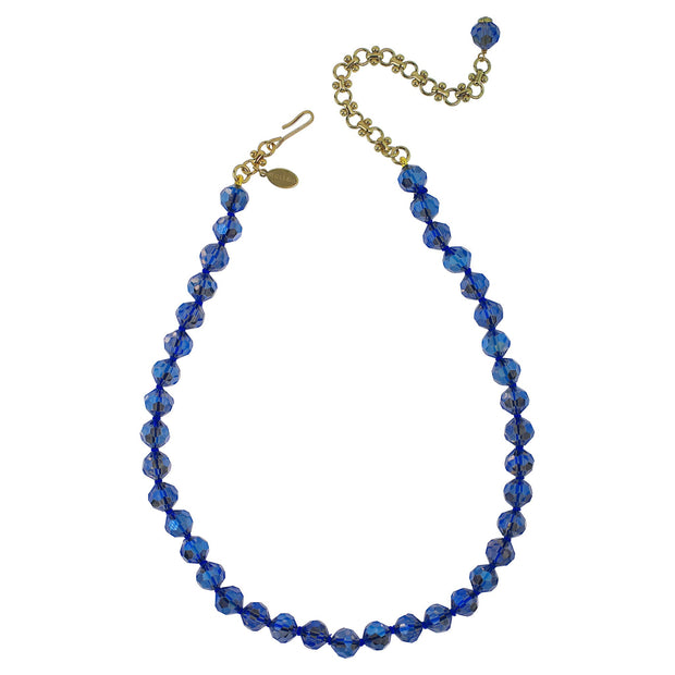 "HEIDI DAUS®""To The Moon And Back"" Beaded Crystal Moon Necklace - Heidi Daus®"