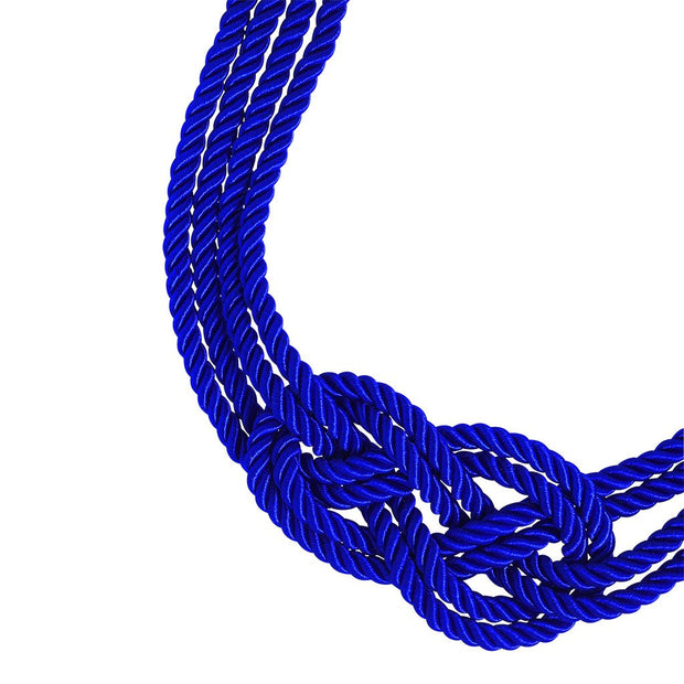 "HEIDI DAUS®""Nautical Knots"" Cord & Crystal Knot Necklace - Heidi Daus®"