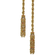 """Cool School Jewels"" Crystal Chain Lariat Necklace - Heidi Daus®"