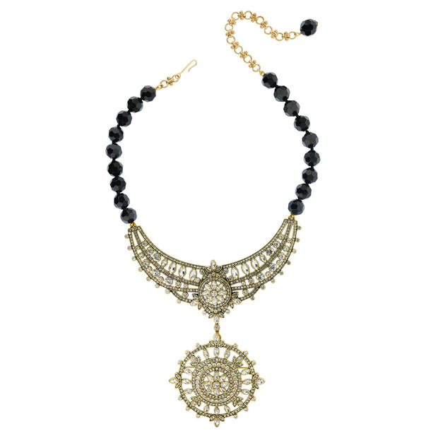 "HEIDI DAUS® ""Paris Salon"" Crystal Collar Interchangeable Pin & Necklace Set - Heidi Daus®"
