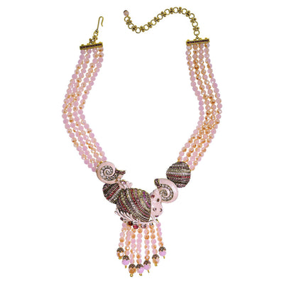 "HEIDI DAUS®""Oceana"" Enamel Crystal Beaded Necklace - Heidi Daus®"