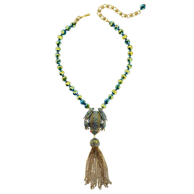 """Toad-Ally Fabulous"" Crystal Drop Necklace - Heidi Daus®"