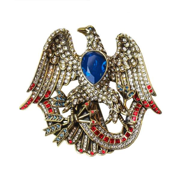 """Liberty & Justice For All"" Crystal Pin - Heidi Daus®"