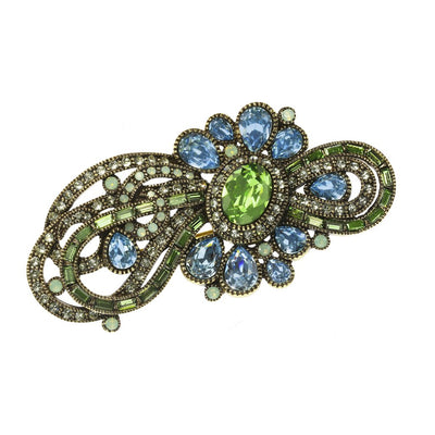 """Classically Curated"" Crystal Pin"