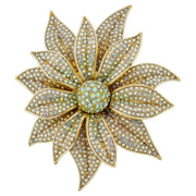 "HEIDI DAUS®""Holiday Wishes"" Crystal Flower Pin - Heidi Daus®"