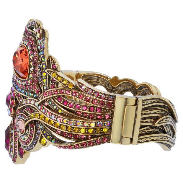 """Fire and Ice"" Crystal Cuff Bracelet - Heidi Daus®"