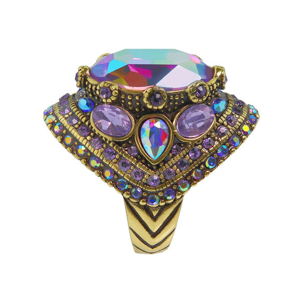 "HEIDI DAUS®""Shirli Stunning"" Crystal Cocktail Ring - Heidi Daus®"