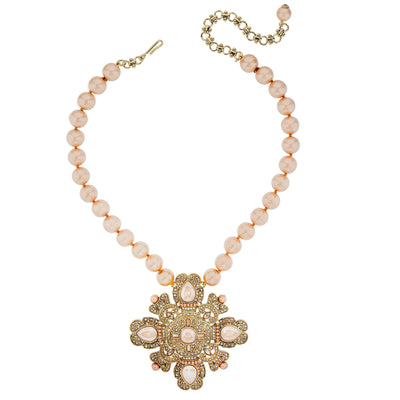 "HEIDI DAUS® ""Runway Fabulous"" Beaded & Crystal Necklace - Heidi Daus®"