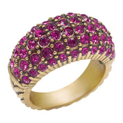 """Hugs From Heidi"" Crystal Ring - Heidi Daus®"