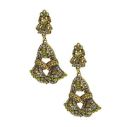 """Duo Drop"" Crystal Drop Earrings - Heidi Daus®"