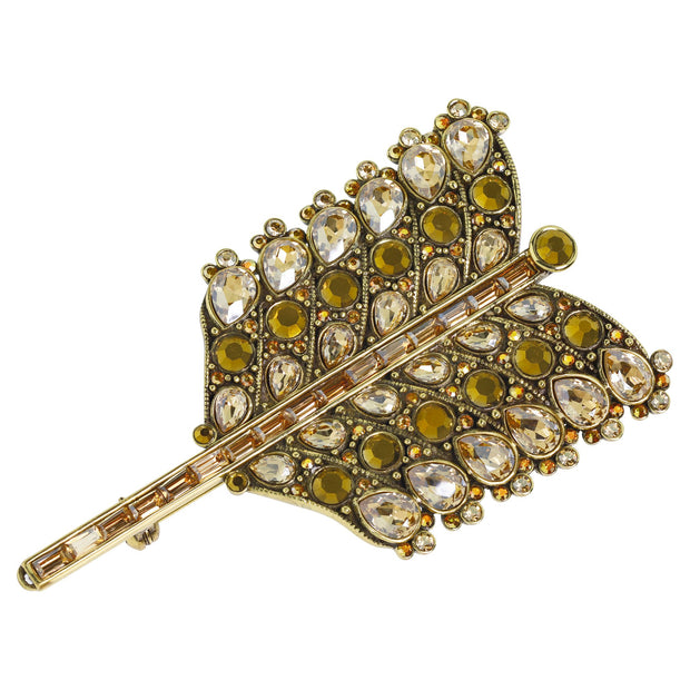 "Heidi Daus® ""Arrow Of Desire"" Crystal Arrow Pin - Heidi Daus®"
