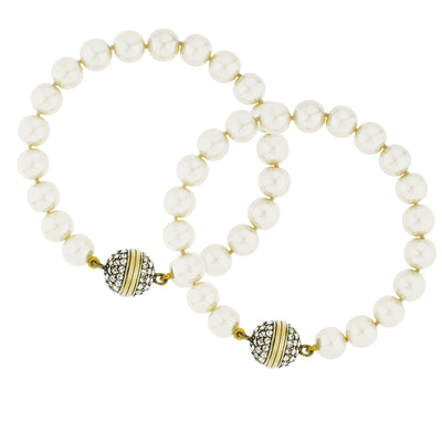 """Endless Possibilities"" Crystal Beaded Interchangeable Bracelet Set"