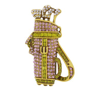 """Hole-In-One "" Crystal Golf Accented Pin - Heidi Daus®"