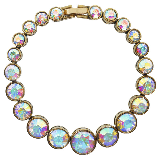 "HEIDI DAUS®""On Line"" Round Cut Crystal Layout Bracelet - Heidi Daus®"