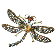 "Heidi Daus® ""Trembling Brilliance"" Crystal Dragonfly Pin - Heidi Daus®"