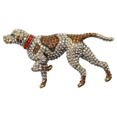 """Best In Show"" Crystal Dog Pin"