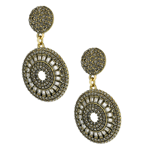 "HEIDI DAUS® ""Baguette Bliss"" Crystal Drop Earrings - Heidi Daus®"