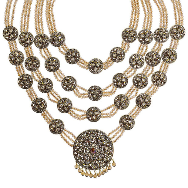 """Princess of Love"" Beaded Crystal Statement Necklace - Heidi Daus®"