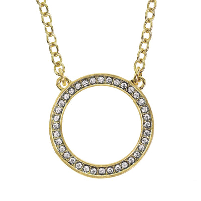 "Heidi Daus® ""Infinite Elegance"" Crystal Chain Necklace - Heidi Daus®"