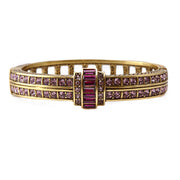 """Clearly Classic"" Swarovski Bangle Bracelet - Heidi Daus®"