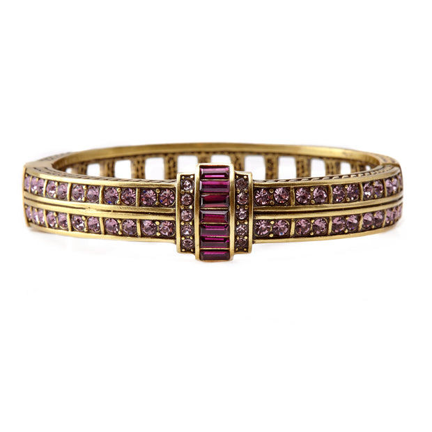 "HEIDI DAUS® ""Clearly Classic"" Swarovski Bangle Bracelet - Heidi Daus®"