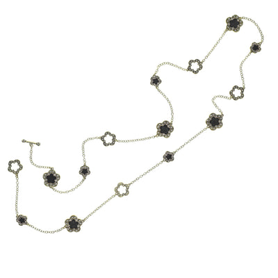 """Easy Does It"" Enamel & Crystal Multi-Station Necklace - Heidi Daus®"
