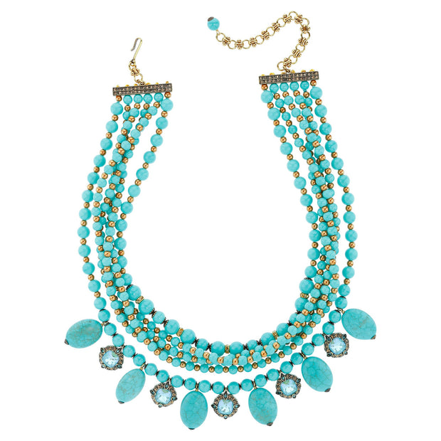 "Heidi Daus ""A Twist of Fortune"" Crystal Beaded Necklace - Heidi Daus®"
