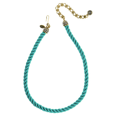 """Elegant Essentials"" Pin Enhancer Cord Necklace"