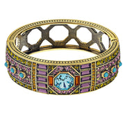 """Lavish Layers"" Crystal Art Deco Bracelet"